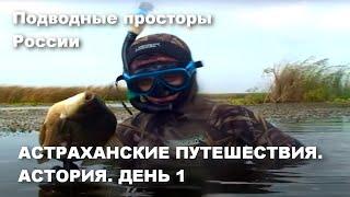Астраханские путешествия Астория День I Амазонки Охота на карася Подводные просторы России