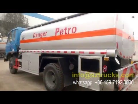 RHD danger petro tanker truck DONGFENG chassis export to Kenya