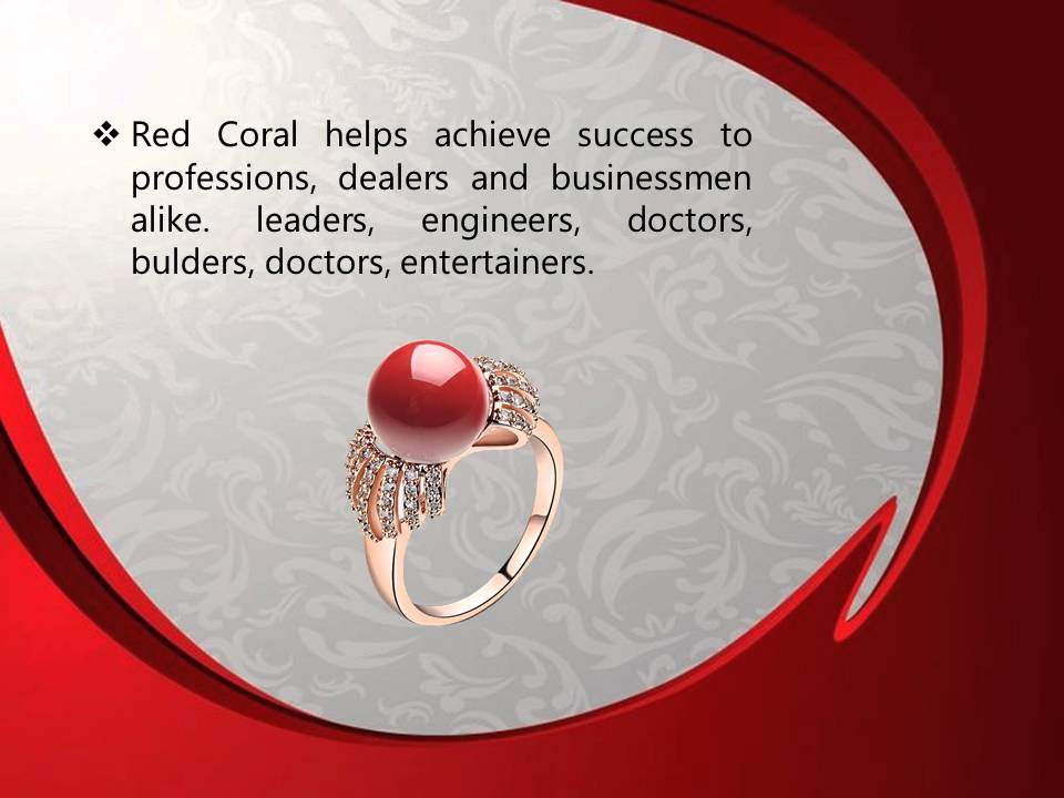 Benefits Of Red Coral Stone - YouTube