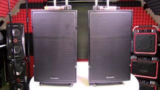 DiamondBoxx PA15 Pro DJ Speaker - The LOUDEST PA Speaker I've Ever Reviewed!