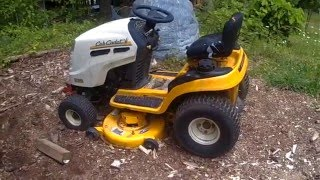 cub cadet dead on arrival brought back to life