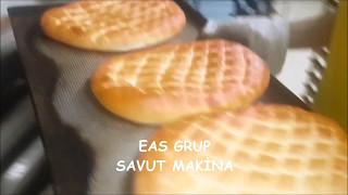 Dünyada ilk ve tek PTM ( Pide Tırnak Makinası ) EAS GRUP - SAVUT MAKİNA
