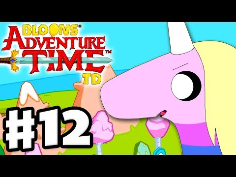 Bloons Adventure Time TD - Gameplay Walkthrough Part 12 - Lady Rainicorn!