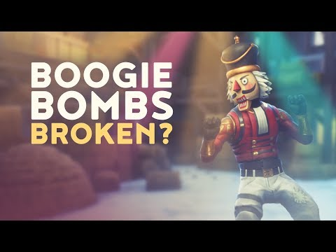 BOOGIE BOMBS BROKEN? (Fortnite Battle Royale)