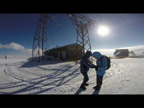 Цахкадзор. Горнолыжный курорт. Обзорное видео. Армения.
