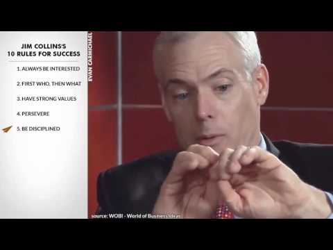 TOP 10 SPEECH ON SUCCESS  (Jim Collins's)