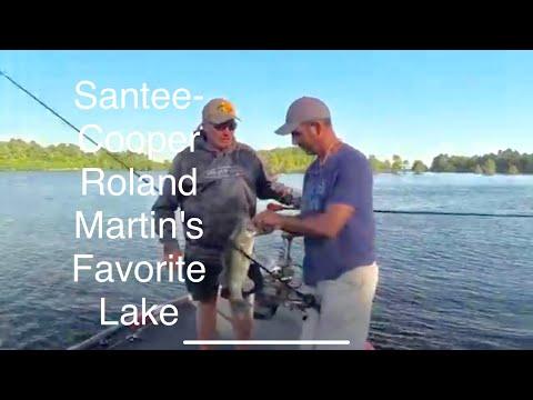 Santee-Cooper, Roland Martin's Favorite Lake