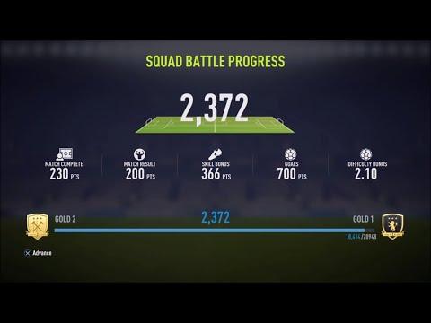 USING BRONZE TEAM FOR SQUAD BATTLES LEGENDARY - FIFA 18 ULTIMATE TEAM