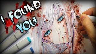 """I Found You"" Horror Story - Creepypasta + Anime Drawing"