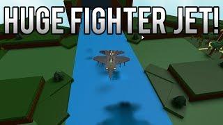 Roblox - Construire un bateau pour le trésor: Nouveau 'MASSIVE' FIGHTER JET!