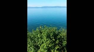 Девушка голая купается в Байкале.