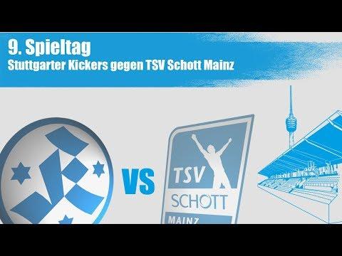 9.Spieltag, Stuttgarter Kickers vs Schott Mainz - Spielbericht + Interview