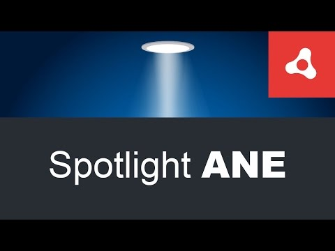 Spotlight Air Native Extension for Adobe Air apps