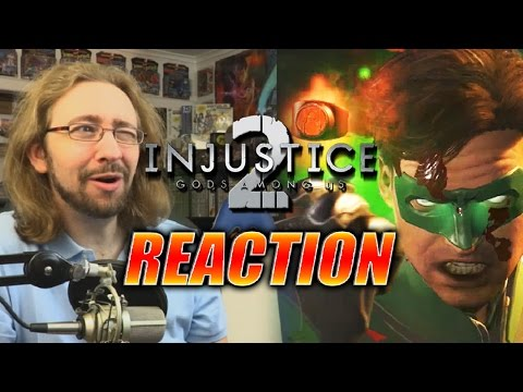 MAX REACTS: Injustice Story Trailer 2/Green Lantern/Green Arrow/Captain Cold?!