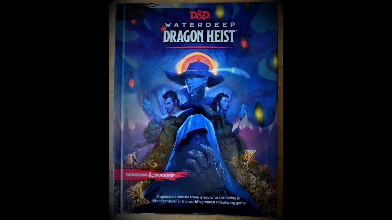 Waterdeep Dragon Heist: Flip Through and 1st Impressions plus Owlbear