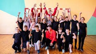 Урок физической культуры и спорта в СШ 9