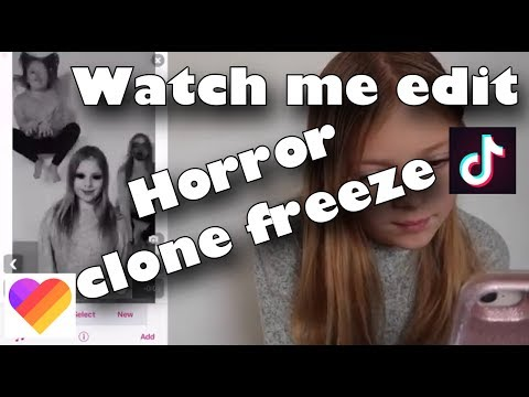 Watch me edit Horror type clone Freeze