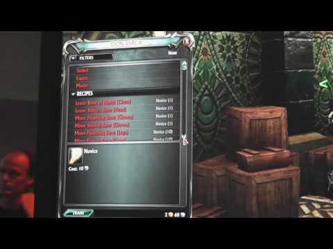 Runecrafting - Rift: Planes Of Telara - Gamescom 2010 - [HD]