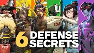 6 Secrets about Overwatch's Defense Heroes by Jeff Kaplan