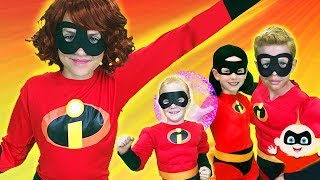 The Incredibles Finger Family | Finger Family Song | Funpop!