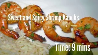 Sweet and Spicy Shrimp Kabobs Recipe