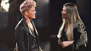 (HD VERSION) Kelly Clarkson & P!nk