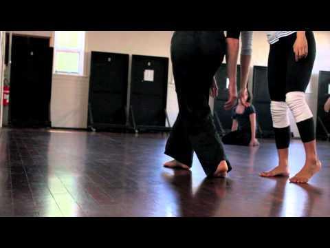 Perth Contact Improvisation organic dance performance