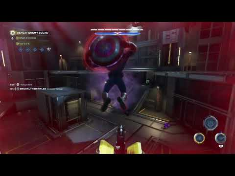 Avengers - Heroic Gauntlet 3 (solo game play) Captain America |