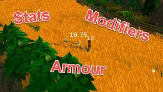 Damage Text, Stats Systems and Armour! - Sam's RPG Update #8