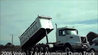 Carco Volvo 7 Axle Aluminum Dump Truck