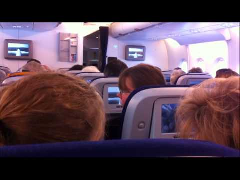 A380 Rundflug über Sylt und Hamburg