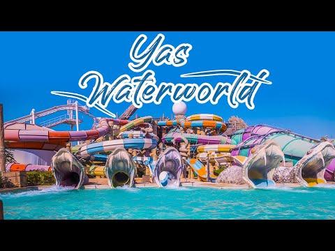 YAS Waterworld Abu Dhabi | Futuristic Waterpark With 43 Exotic Rides