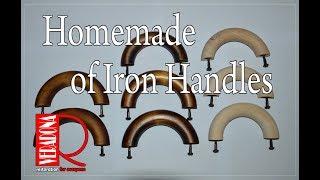 How to make hands on old irons DIY. Jak si vyrobit ručku na starou žehličku  DIY