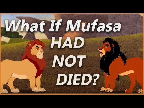 WHAT IF MUFASA SURVIVED THE FALL?   Lion King Deleted Scene