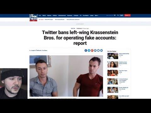 Twitter BANNED Anti-Trump Krassensteins And I DO NOT Trust Twitter