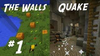 Minecraft Minigame Montage #1 | The Walls - Quake Craft | IP in de beschrijving!