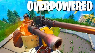 6 Minutes of the New Turret *BREAKING* Fortnite