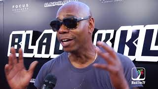 Dave Chappelle compares Clayton Bigsby to the real BlacKkKlansman at Premiere