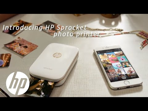 Print Instantly From Your Phone | HP Sprocket Printer | HP