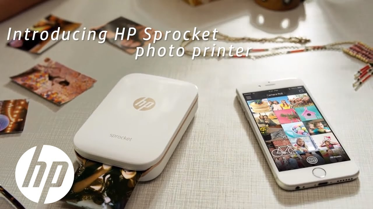 print instantly from your phone hp sprocket printer hp youtube