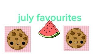 July favourites Thumbnail