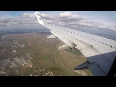 ryanair flight Charleroi Bucharest and bus to the city center