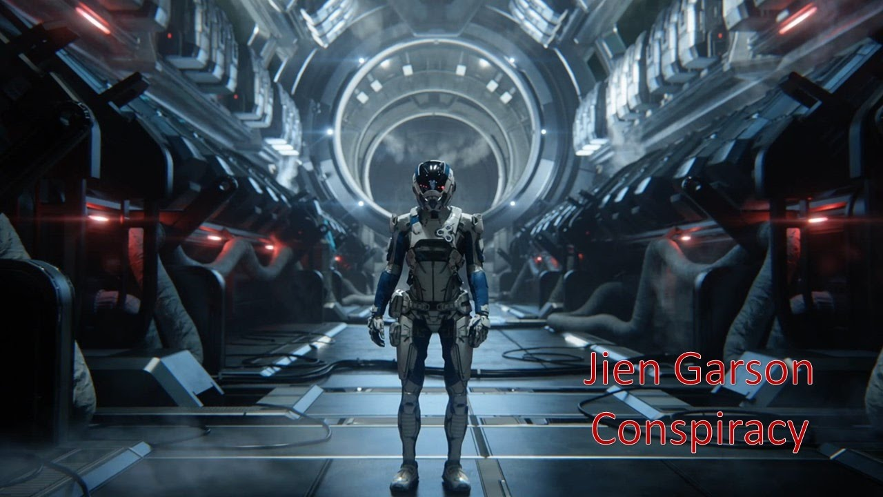 Mass Effect Andromeda - Jien Garson Conspiracy - YouTube