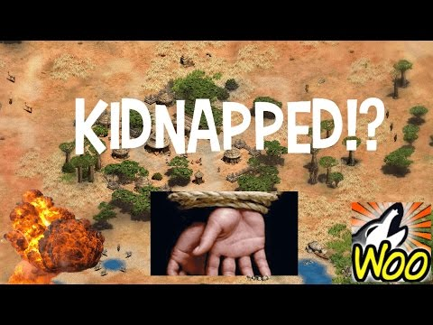 AoE2 - Kidnapped Mod!? King Of The Hill!