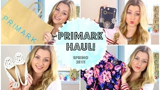 One of Jade Billington's most viewed videos: HUGE SPRING PRIMARK HAUL 2015 | LeadingLadyBeauty