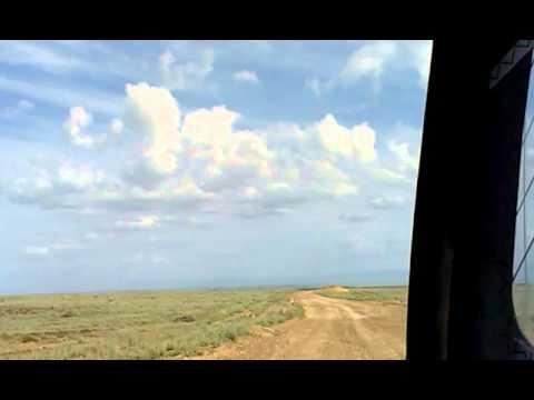 Whike - Kazakhstan. path to Chelek