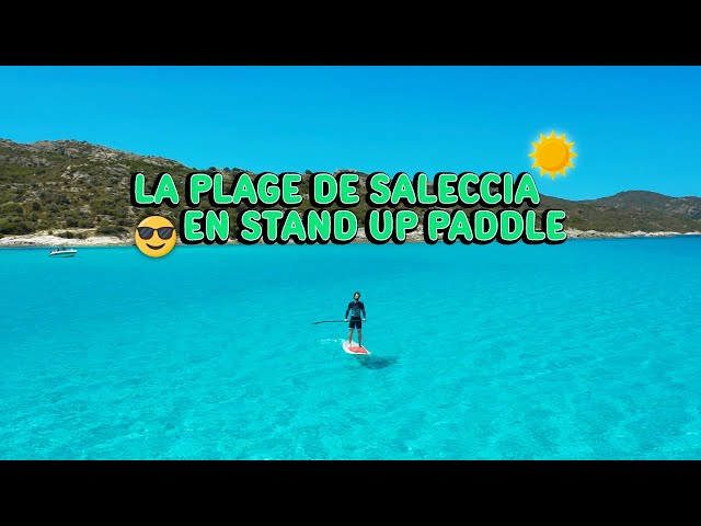 Paddle  en Corse - Saleccia en 4x4