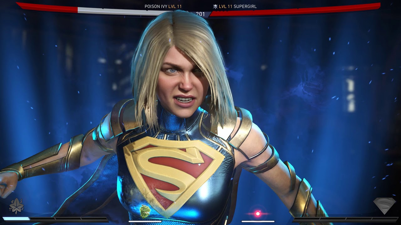 Injustice 2 Poison Ivy Vs Supergirl High Quality Youtube