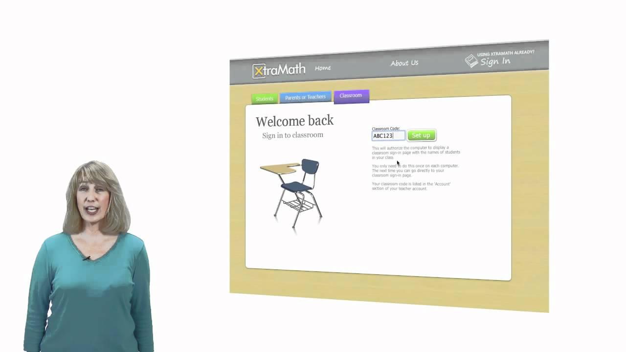 XtraMath Classroom Setup  YouTube