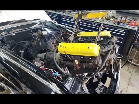 Engine Rebuilding - Removing the Engine
